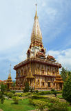 Wat Chalong Pagoda in Phuket Thailand Stock Photo