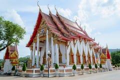 Wat Chalong in Phuket Royalty-vrije Stock Afbeeldingen