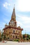 Wat Chalong Phuket Foto de archivo