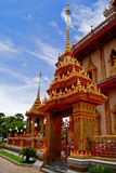Wat Chalong, Phuket Tailandia Imagen de archivo libre de regalías