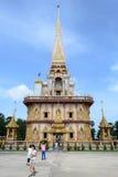 Wat Chalong In Phuket Stock Photos