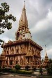 Wat Chalong In Phuket Royalty Free Stock Photography