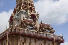 Wat Chalong Phuket, Thailand Stockbilder