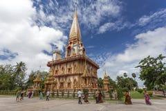 Wat Chalong Phuket, Thailand Lizenzfreies Stockbild