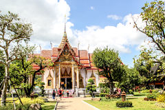Wat Chalong. In Phuket, Thailand Stock Images