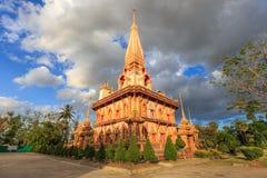 Wat Chalong Phuket Thailand Lizenzfreies Stockfoto