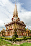 Wat Chalong in Phuket Thailand Royalty Free Stock Photography