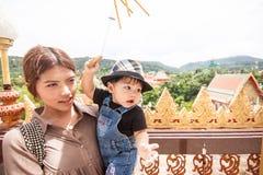 Wat Chalong, secteur de Mueang Phuket, Phuket Images stock