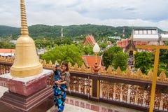 Wat Chalong, secteur de Mueang Phuket, Phuket Photo stock