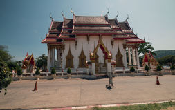 Wat Chalong tempel Royaltyfri Bild