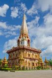Wat Chalong Temple à Phuket Image stock