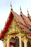 Wat Chalong temple Royalty Free Stock Photography