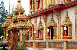 Wat Chalong temple Royalty Free Stock Photos