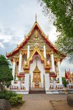 Wat Chalong temple during the afternoon, Phuket, Thailand Stock Photo