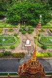 Wat Chalong Temple Complex à Phuket, Thaïlande Images libres de droits
