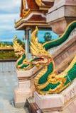 Wat Chalong Temple Complex i Phuket, Thailand royaltyfri fotografi
