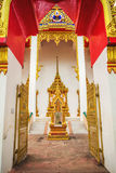 Wat Chalong Temple Complex in Phuket, Thailand Stock Afbeelding