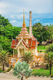 Wat Chalong Temple Complex in Phuket, Thailand Royalty-vrije Stock Fotografie