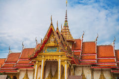 Wat Chalong Temple Complex in Phuket, Thailand Stock Foto's