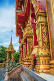 Wat Chalong Temple Complex in Phuket, Thailand Royalty-vrije Stock Foto's