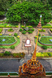 Wat Chalong Temple Complex in Phuket, Thailand Royalty-vrije Stock Afbeeldingen