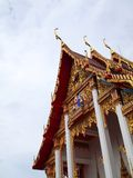 Wat Chalong Temple on Phuket island , Thailand. Wat Chalong Temple is dedicated to two highly venerable monks, Luang Pho Chaem and Luang Pho Chuang , who with Royalty Free Stock Photos