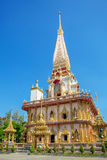 Wat Chalong temple in Phuket Stock Photography