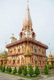 Wat Chalong Temple Royalty Free Stock Image