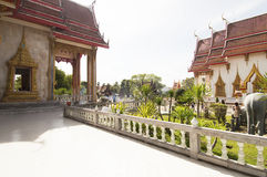 Wat Chalong temple in Phuket, Thailand Stock Photography