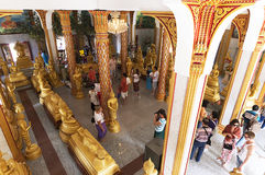 Wat Chalong temple in Phuket, Thailand Stock Image
