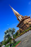 Wat Chalong temple at sunny day Phuket Thailand Royalty Free Stock Photography