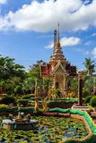 Wat Chalong temple at sunny day Phuket Thailand Royalty Free Stock Image