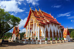 Wat Chalong temple at sunny day Phuket Thailand Stock Images