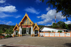 Wat Chalong temple at sunny day Phuket Thailand Royalty Free Stock Photos