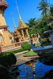 Wat Chalong temple at sunny day Phuket Thailand Stock Photos