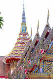 Wat Chalong temple in Thailand Royalty Free Stock Image