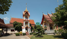 Wat Chalong Temple Stock Image