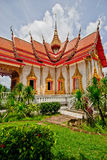 Wat Chalong Ubosot Стоковая Фотография