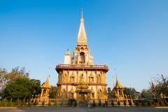 Wat Chalong W Phuket, Tajlandia Obrazy Stock