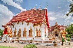Wat Chalong or Wat Chaiyathararam, Chalong, Phuket,   Thailand Stock Photo