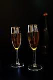 Wat champagne Stock Afbeelding