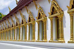 Wat Chana Songkhram Ratchaworamahawihan w Bangkok Zdjęcia Royalty Free