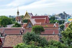 Wat chanasongkhram bangkok Thailand royaltyfri foto