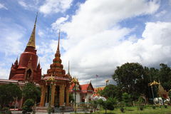 Wat Chang Hai Arkivfoton