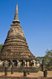 Wat Chang Lom. Ruin of the temple Wat Chang Lom in Sukhothai Royalty Free Stock Photos