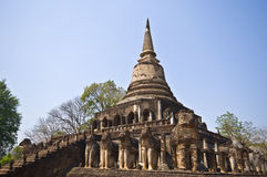 Wat Chang Lom Royalty Free Stock Photography