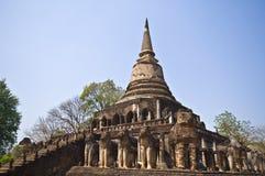Wat Chang Lom. Ruin of Wat Chang Lom in Si Satchanalai Royalty Free Stock Photography