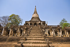 Wat Chang Lom Royalty Free Stock Photo