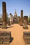 Wat Chang Lom. Ruin of Wat Chang Lom in Si Satchanalai Stock Image
