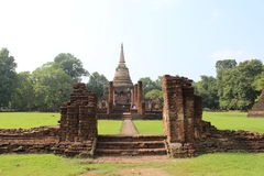 Wat Chang Lom Royalty Free Stock Photos